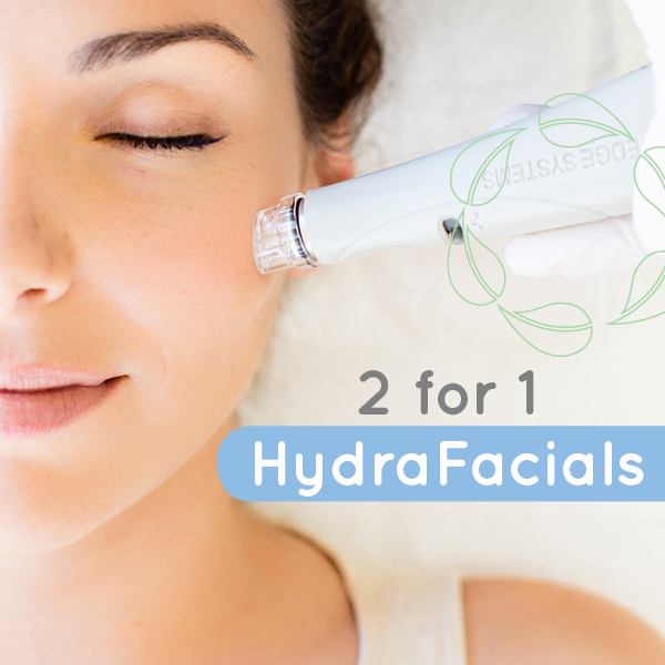 2 for 1 Hydrafacials in perth - December 2019 only