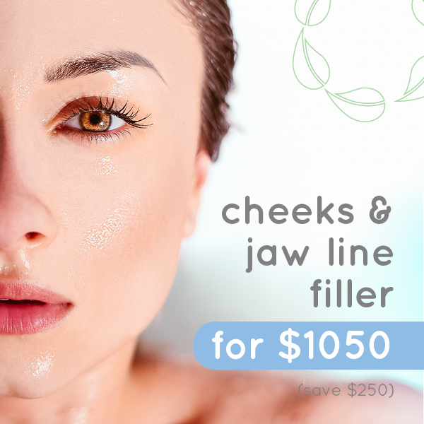 cheek and jaw filler special feb 2019