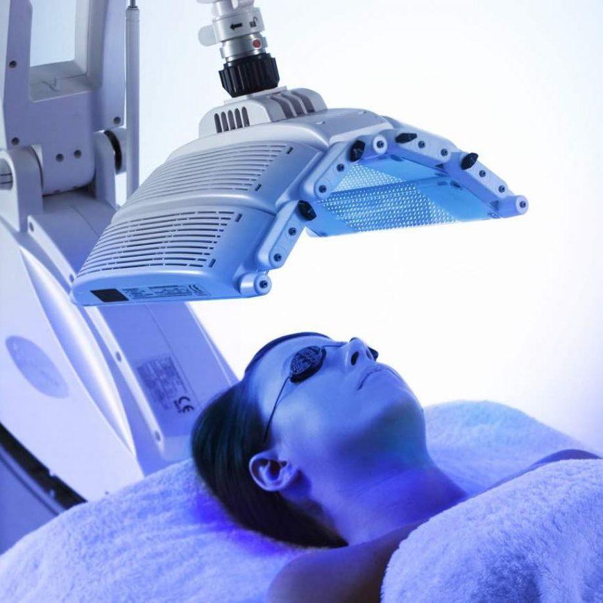 omnilux light - led light treatment for acne